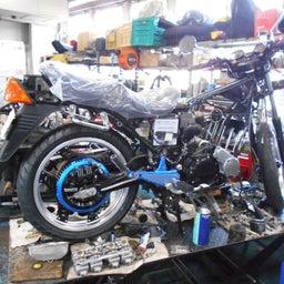 画像 ホンダ CBX400F 東京都 小澤様、ステージ4納車整備中! CBX400F、 の記事より 4つ目