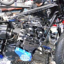 画像 ホンダ CBX400F 東京都 小澤様、ステージ4納車整備中! CBX400F、 の記事より 7つ目