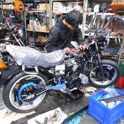画像 ホンダ CBX400F 東京都 小澤様、ステージ4納車整備中! CBX400F、 の記事より 2つ目