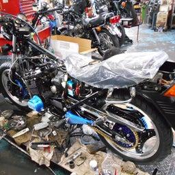 画像 ホンダ CBX400F 東京都 小澤様、ステージ4納車整備中! CBX400F、 の記事より 8つ目