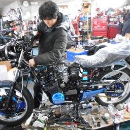 画像 ホンダ CBX400F 東京都 小澤様、ステージ4納車整備中! CBX400F、 の記事より 9つ目