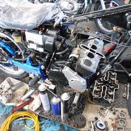 画像 ホンダ CBX400F 東京都 小澤様、ステージ4納車整備中! CBX400F、 の記事より 3つ目