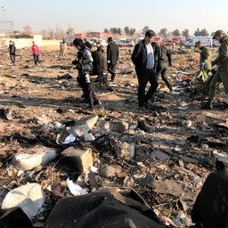 画像 ウクライナ機墜落はイランのミサイル攻撃によるものか?それともアメリカの謀略か? の記事より