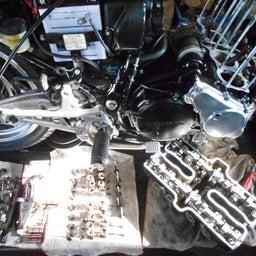 画像 ホンダ CBX550F 茨城県 加藤様、ステージ4納車整備中! CBX550F、RPM の記事より 6つ目