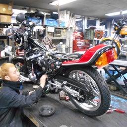 画像 ホンダ CBX550F 茨城県 加藤様、ステージ4納車整備中! CBX550F、RPM の記事より 4つ目