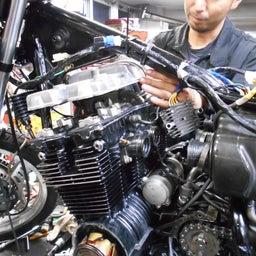 画像 ホンダ CBX550F 茨城県 加藤様、ステージ4納車整備中! CBX550F、RPM の記事より 10つ目