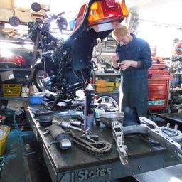 画像 ホンダ CBX550F 茨城県 加藤様、ステージ4納車整備中! CBX550F、RPM の記事より 3つ目