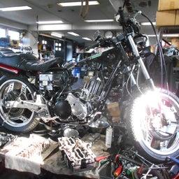 画像 ホンダ CBX550F 茨城県 加藤様、ステージ4納車整備中! CBX550F、RPM の記事より 5つ目