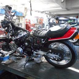 画像 ホンダ CBX550F 茨城県 加藤様、ステージ4納車整備中! CBX550F、RPM の記事より 2つ目