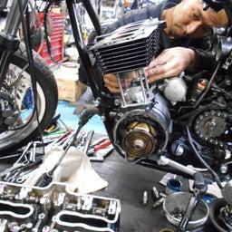 画像 ホンダ CBX550F 茨城県 加藤様、ステージ4納車整備中! CBX550F、RPM の記事より 8つ目