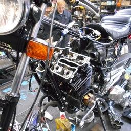 画像 ホンダ CBX550F 茨城県 加藤様、ステージ4納車整備中! CBX550F、RPM の記事より 9つ目
