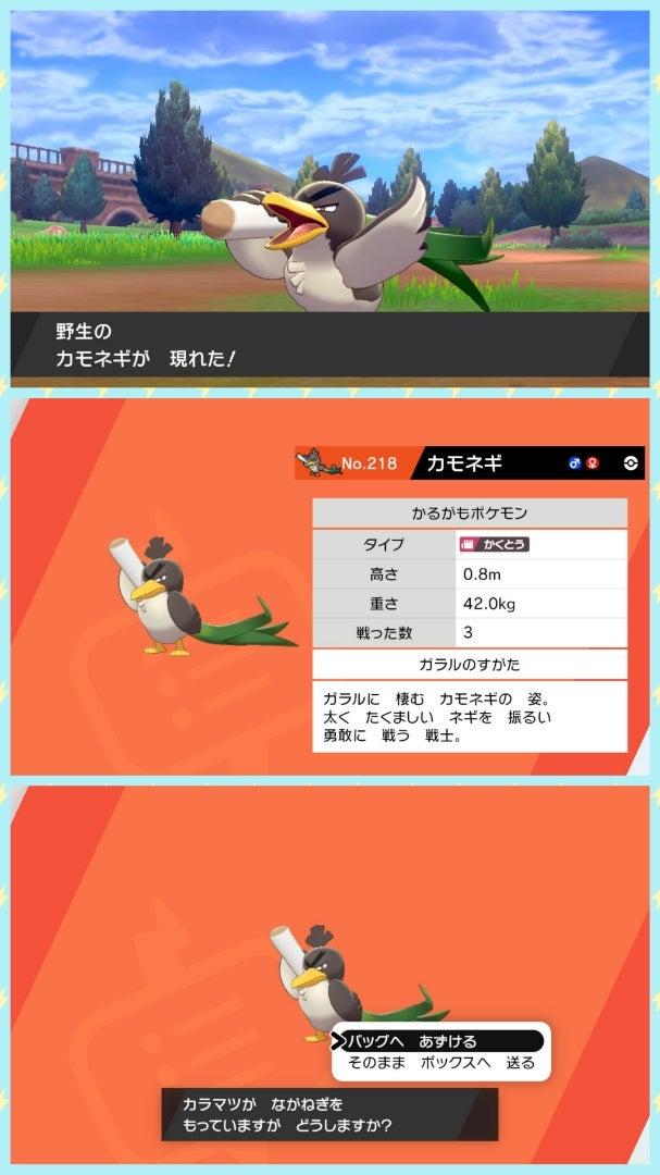 ポケモン剣ログ ポケモン剣盾エキスパンションパス とカモネギ