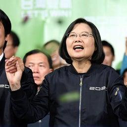 画像 祝!台湾総統選挙で民進党尾蔡英文氏が再選!!投票率がなんと、74.9% の記事より