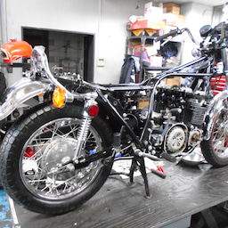 画像 カワサキ KZ900 群馬県 齋藤様、ステージ4納車整備開始! KZ900、Z1ルック、 の記事より 1つ目