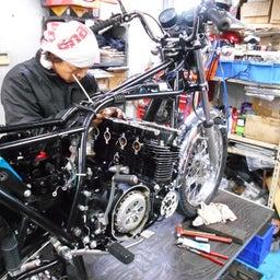 画像 カワサキ KZ900 群馬県 齋藤様、ステージ4納車整備開始! KZ900、Z1ルック、 の記事より 9つ目