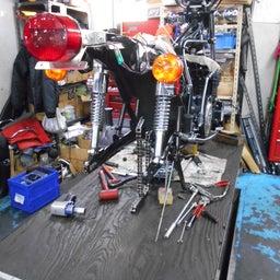 画像 カワサキ KZ900 群馬県 齋藤様、ステージ4納車整備開始! KZ900、Z1ルック、 の記事より 4つ目