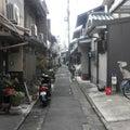 京都の坂から