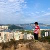 【香港】将軍石から柏架山 Tseung Kwan Shek 西湾河から山を登るの画像
