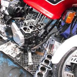 画像 ホンダ CBX550FⅡ 山梨県 清原様、ステージ4納車整備中! CBX550F、インテグラ、 の記事より 3つ目