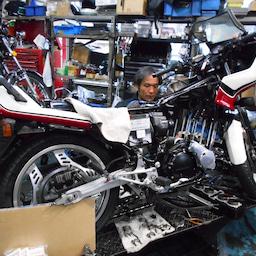 画像 ホンダ CBX550FⅡ 山梨県 清原様、ステージ4納車整備中! CBX550F、インテグラ、 の記事より 1つ目