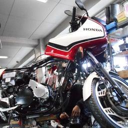 画像 ホンダ CBX550FⅡ 山梨県 清原様、ステージ4納車整備中! CBX550F、インテグラ、 の記事より 4つ目