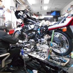 画像 ホンダ CBX550FⅡ 山梨県 清原様、ステージ4納車整備中! CBX550F、インテグラ、 の記事より 6つ目