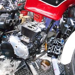 画像 ホンダ CBX550FⅡ 山梨県 清原様、ステージ4納車整備中! CBX550F、インテグラ、 の記事より 5つ目