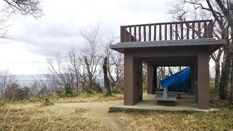 飯盛山の休憩所
