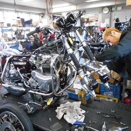 画像 カワサキ 650RS W3 東京都 井上様、ステージ4納車整備開始! 彼のオートバイ、彼女の島 の記事より 3つ目