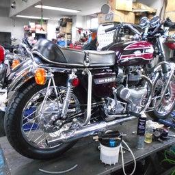 画像 カワサキ 650RS W3 東京都 井上様、ステージ4納車整備開始! 彼のオートバイ、彼女の島 の記事より 1つ目