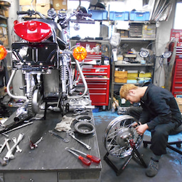 画像 カワサキ 650RS W3 東京都 井上様、ステージ4納車整備開始! 彼のオートバイ、彼女の島 の記事より 2つ目