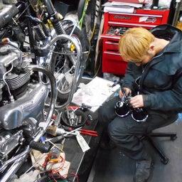画像 カワサキ 650RS W3 東京都 井上様、ステージ4納車整備開始! 彼のオートバイ、彼女の島 の記事より 5つ目