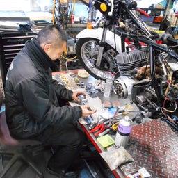 画像 カワサキ 350SS MACHⅡ S2 神奈川県 吉田様、ステージ4納車整備開始! レインボー、 の記事より 3つ目