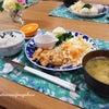 ささみの玉葱ソースで晩ごはん♡の画像