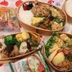 鶏天と豚の生姜焼き弁当