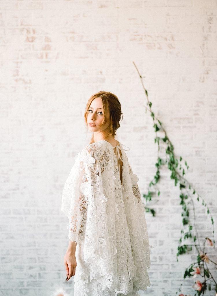 ボヘミアウエディングドレス