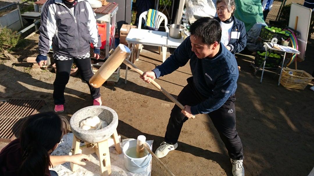 【イベント報告】1/13(月)クラブ新年会&餅つき(前編)の記事より