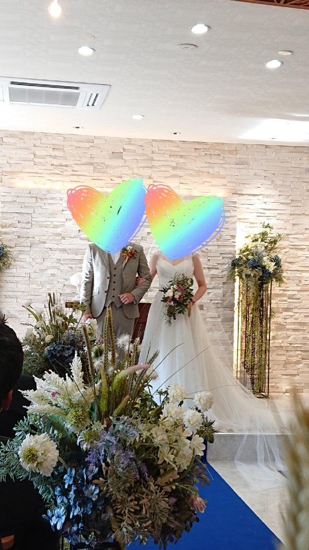 成婚者さんの結婚式参列♡
