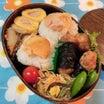 あきちゃんちのラララ♪お弁当♪海苔巻き豆腐ナゲット&鮭おにぎり弁当編