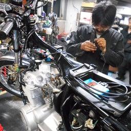 画像 ホンダ DREAM CB400FOUR 栃木県 荒井様、St4納車整備中! CB400、 の記事より 3つ目