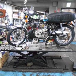 画像 ホンダ DREAM CB400FOUR 栃木県 荒井様、St4納車整備中! CB400、 の記事より 7つ目