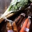 有機野菜を売ってます