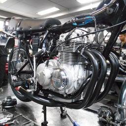 画像 ホンダ DREAM CB400FOUR 栃木県 荒井様、St4納車整備中! CB400、 の記事より 10つ目