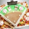 野球場のケーキの画像