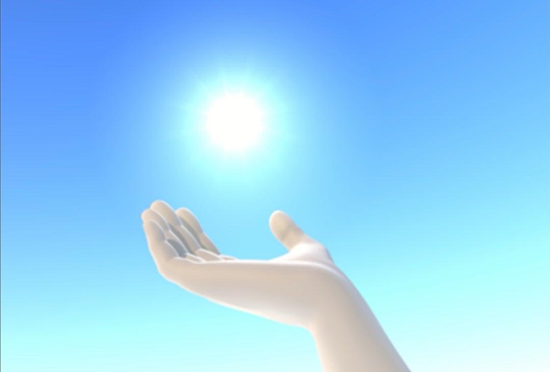 深呼吸・光の粒子を吸う