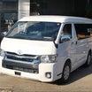 愛知県K様 新車ハイエースワイドサーフィン快適仕様なカスタム納車