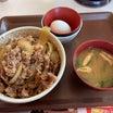 【食べ歩き】牛丼 特盛 玉子セット@すき家