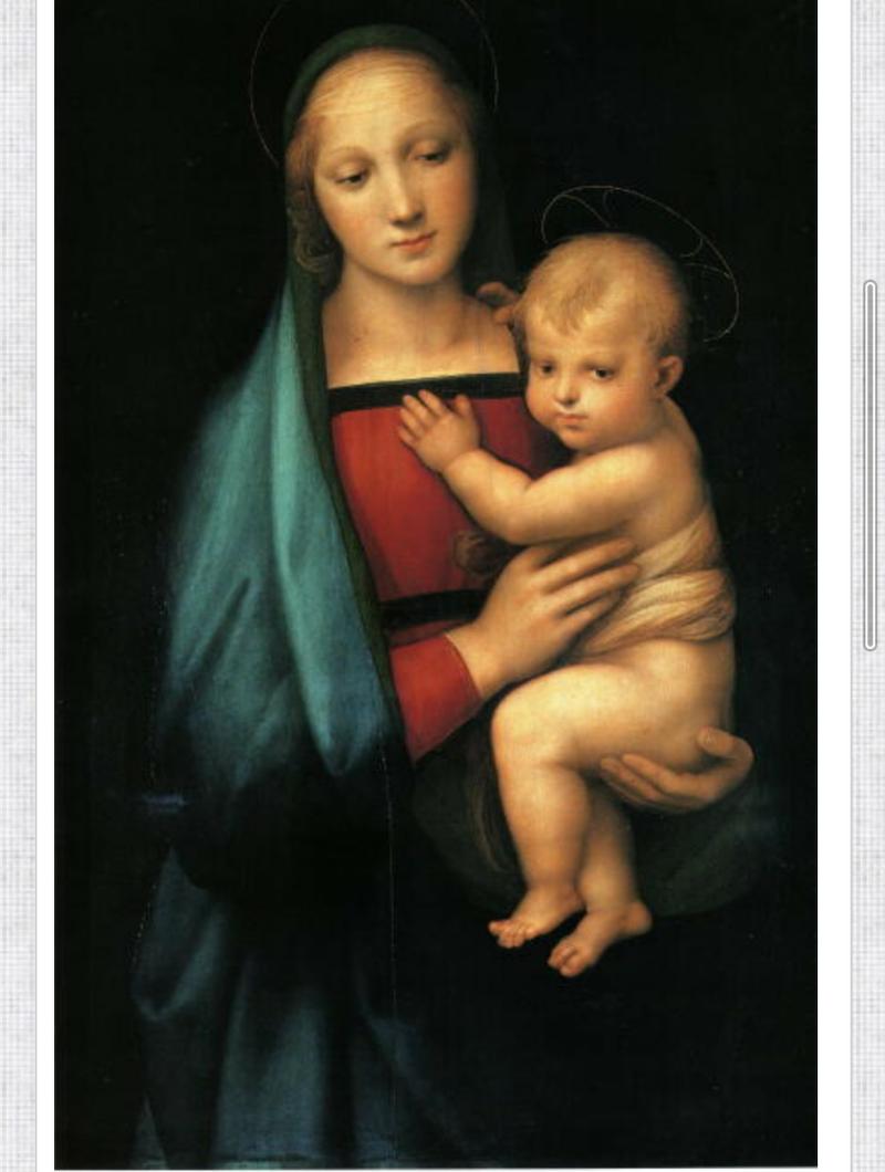 聖母子像 ラファエロ | 星導夜