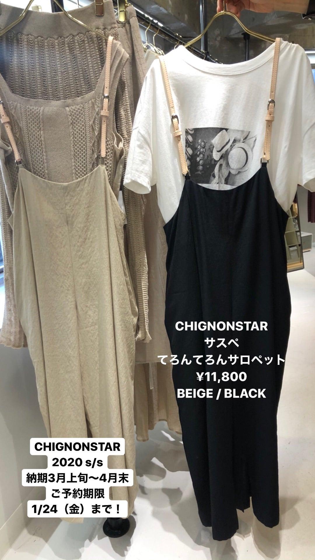 「CHIGNONSTAR 」展示会速報