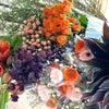 『今年の希望』を花で表現する幸せな時間の画像